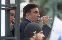 Саакашвили объявил голодовку