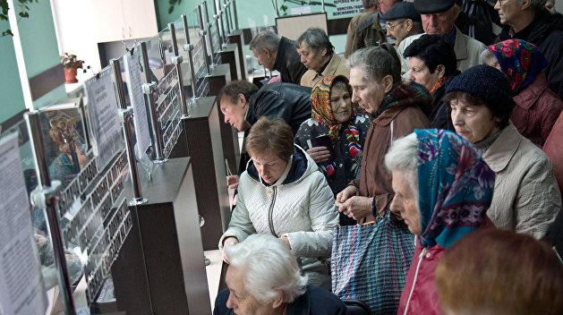Несвоевременное реагирование власти на экономические проблемы лишает украинцев достойной пенсии