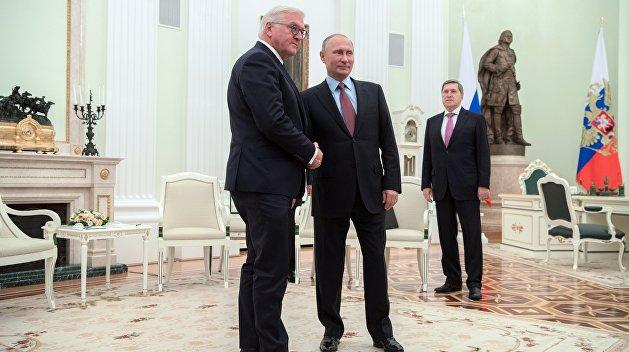 Штайнмайер прилетел в Москву улучшать отношения