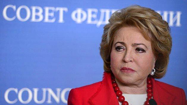 Матвиенко: Санкции проживут максимум до конца года