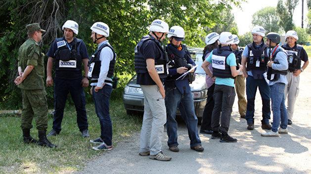 ДНР: Никто не направлял пулеметы на наблюдателей ОБСЕ