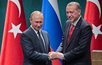 «Заплатить за ошибки». О чем говорили Путин и Эрдоган