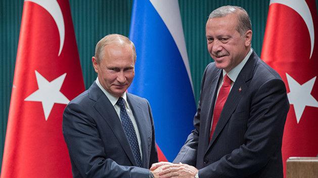 В Кремле рассказали, о чем будут говорить Путин и Эрдоган