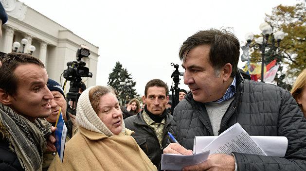 Саакашвили высказался о «хламе» Авакова