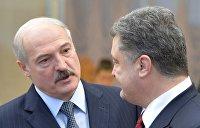 Встреча в ОАЭ: Лукашено заверил Порошенко в расширении торговых связей
