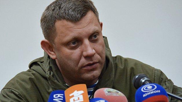 Захарченко: Наша главная цель — возвращение в Россию