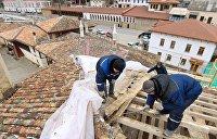 Украинский Минкульт потребовал прекратить реставрацию Ханского дворца Бахчисарая