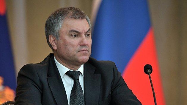 Володин о выборах: США сделают всё, чтобы Украина осталась очагом напряженности