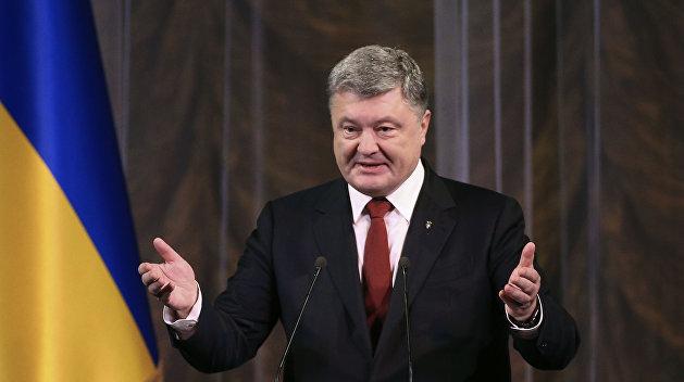 В США Порошенко сделали «Международным государственным деятелем»