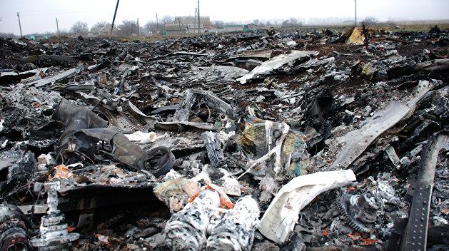 СМИ: СБУ уничтожила улики и свидетеля крушения Boeing под Донецком