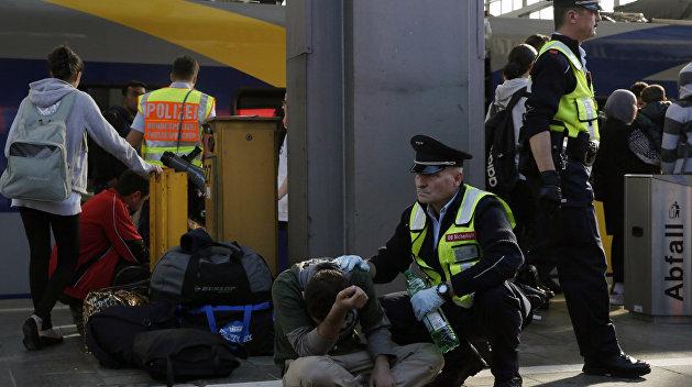 Афганский беженец устроил бойню в немецком поезде