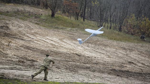 ВСУ массово дронами и противотанковыми ракетами