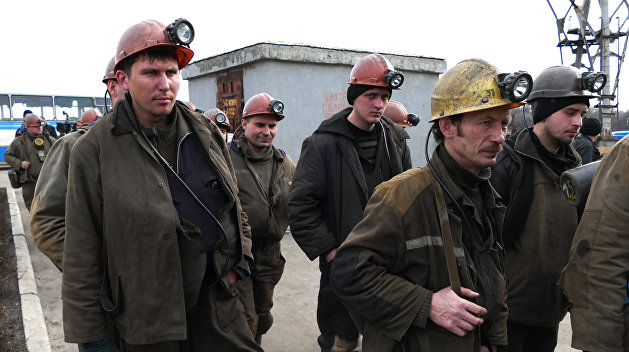 Всё больше шахтёров подконтрольного Киеву Донбасса присоединяются к протестам