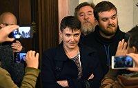 Надежда Савченко: Если у власти коррупционеры, ни один антикоррупционный орган работать не будет