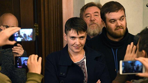 Савченко исключили из украинской делегации в ПАСЕ