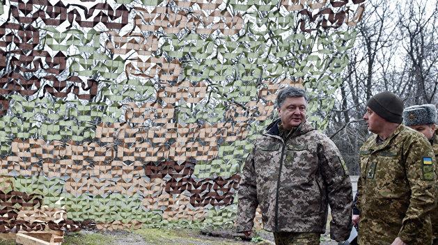 Порошенко отправит бойцов Нацгвардии на «обкатку боем» в АТО