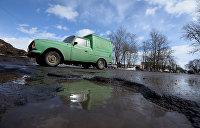 «Укравтодор» признался, что денег не хватает даже на ямочный ремонт