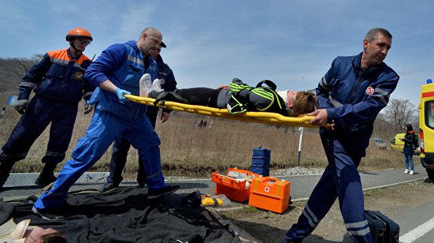 В России столкнулись две украинские машины: пятеро погибших