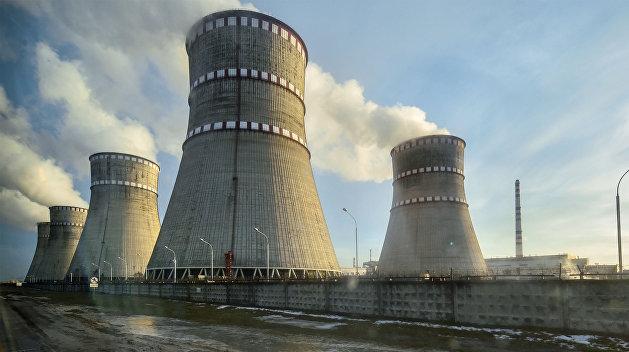 На Ровенской АЭС отключили один из блоков