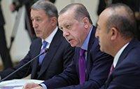 Эрдоган допустил переговоры с Асадом по сирийским курдам