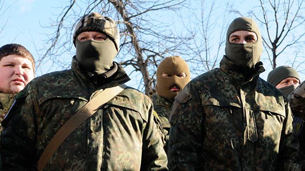 Украинский спецназ стянут к линии соприкосновения в Донбассе