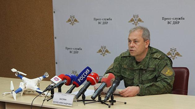Басурин: Военные из стран НАТО прибыли в Донбасс для осуществления провокаций