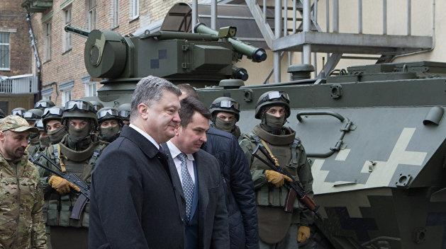 ЛНР: Киев готовит диверсию во время визита Порошенко в Донбасс