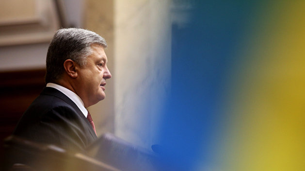 Порошенко внес в парламент закон об антикоррупционном суде