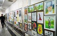 Дети Донбасса рисуют мир: в Ливане открылась художественная выставка
