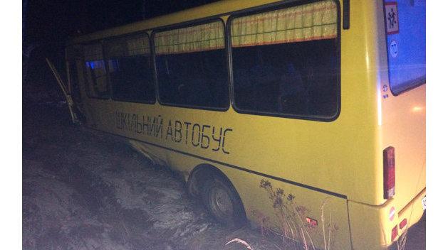 В Одесской области грузовик протаранил пассажирский автобус
