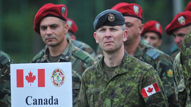 Новая партия канадских военных инструкторов прибыла на Украину