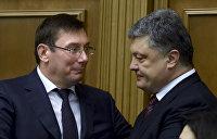 СМИ: Новый год в блоке Порошенко отметили двумя драками
