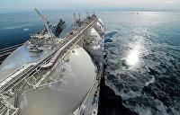 Американский газ впервые стал поставляться в Украину