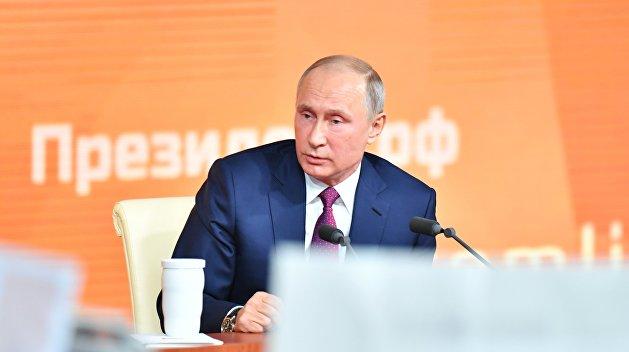 Путин: США — полноправные участники урегулирования ситуации на Украине