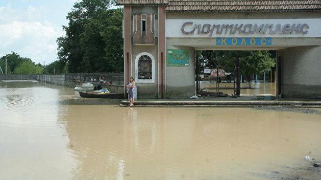 Две области Украины рискуют быть затопленными