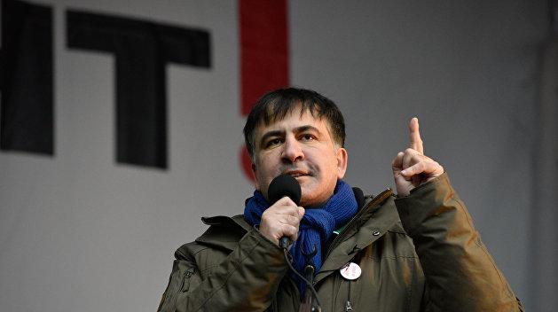Бокс по переписке: Саакашвили дал «заднюю» в деле нового Майдана