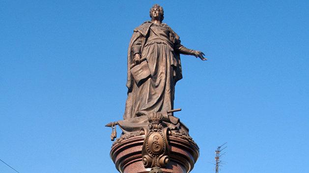 Екатерина Великая: В Одессе до февраля