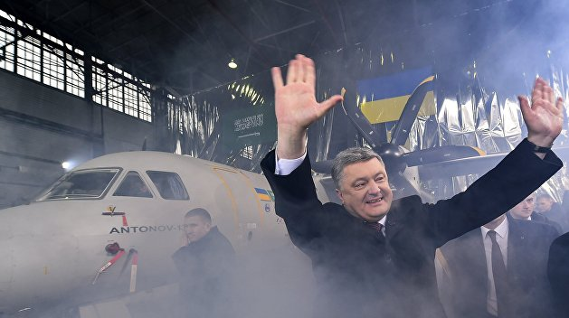 «Борт №1» Петра Порошенко отремонтируют за 28 млн гривен