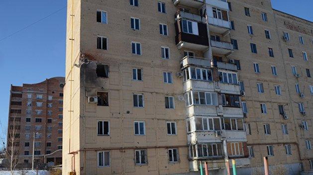 В ДНР обеспечат жильем всех потерявших его в ходе боевых действий