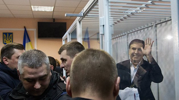 МВД Украины: Саакашвили задержали на «тусовке» нелегальных мигрантов