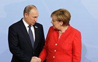 Пусть не вмешивается. Лукашенко передал через Путина важное сообщение для Меркель