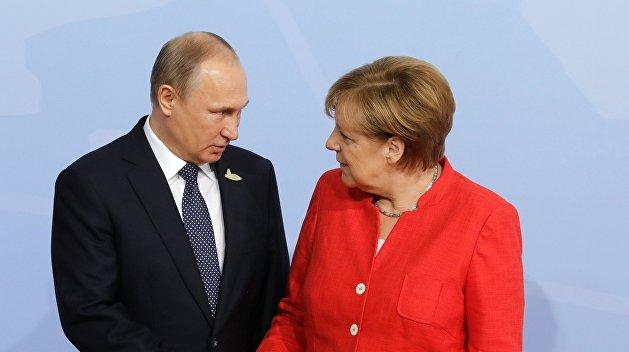 «Взгляд»: Жажда власти заставила Меркель больше уважать интересы России