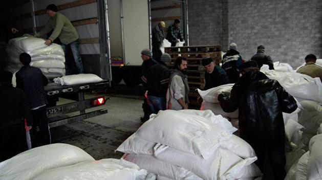 Красный Крест доставил в Донбасс 80 тонн гуманитарной помощи