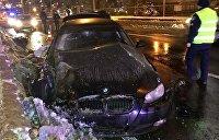 В Киеве виновник ДТП скрылся, бросив погибшего пассажира