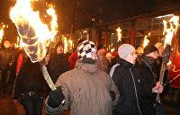 В Киеве британца избили за розовые волосы и пирсинг