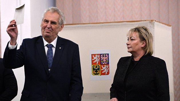 В Чехии состоится второй тур президентских выборов