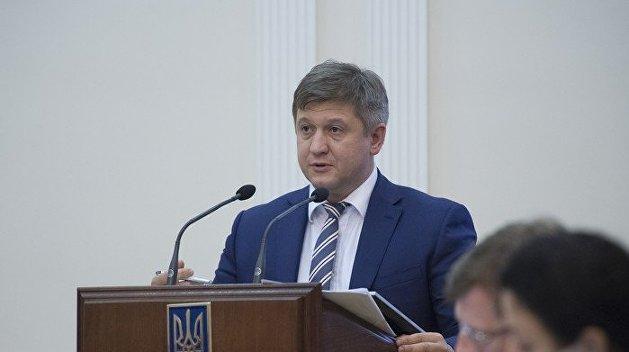 Данилюк написал заявление об отставке после «серьезной войны» с Богданом — СМИ