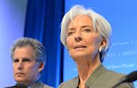МВФ беспокоится и напоминает Порошенко о суде