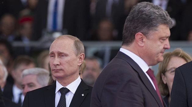 Макрон сведет Порошенко и Путина в Париже