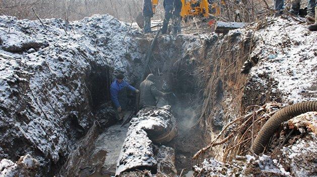 Украинский город залило нечистотами из-за прорыва канализации